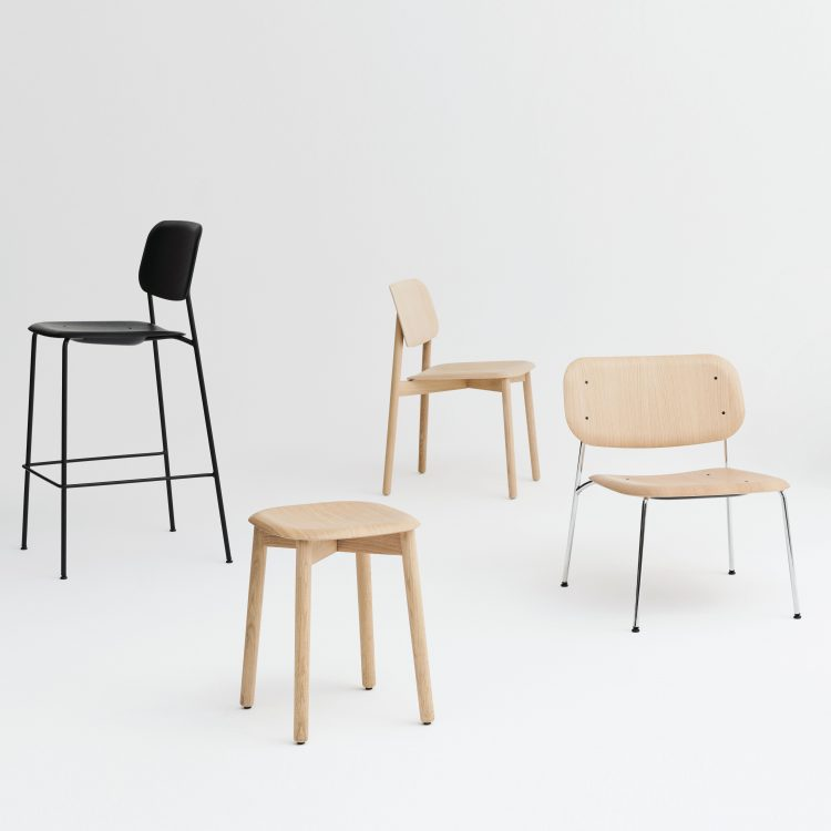 Soft Edge Lounge and Bar stool
